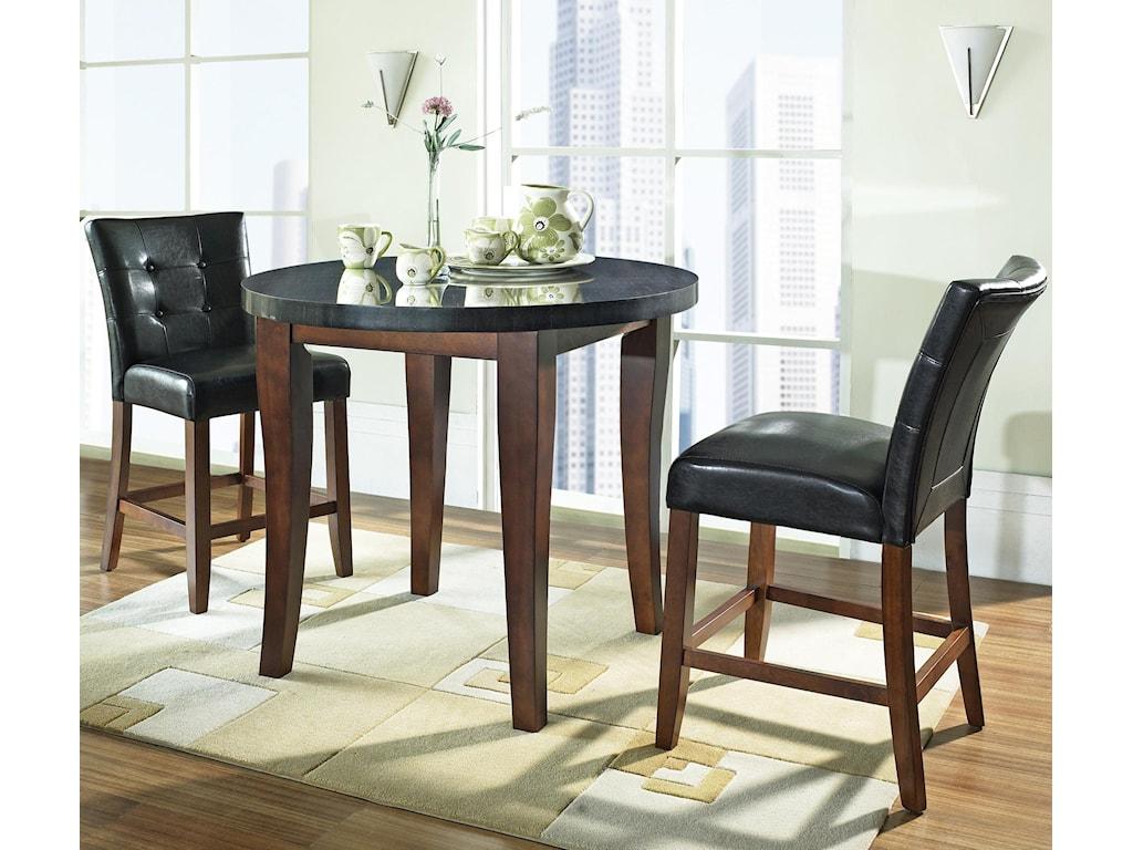Prime Granite Bello 3-Piece Granite Top Counter Height Set | Prime ...