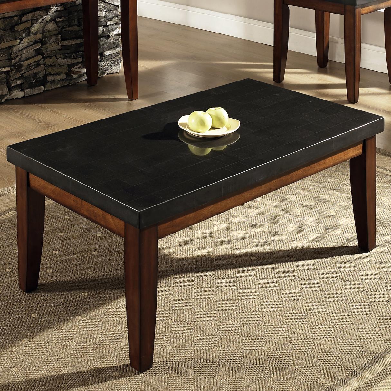 Steve Silver Granite BelloGranite Top Cocktail Table ...