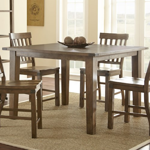 Steve Silver Hailee Hailee Rectangular Counter Table with 18
