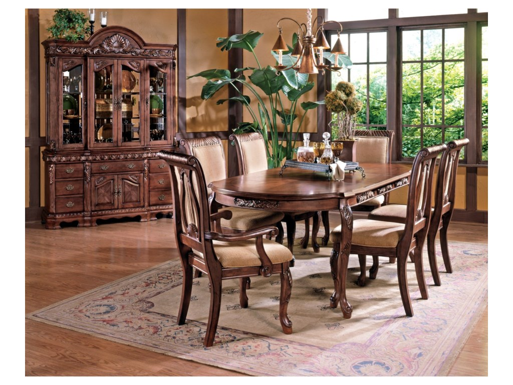 Shown with Hutch & 7-Piece Dining Set