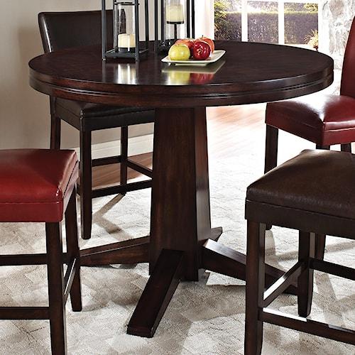Steve Silver Hartford Round Counter Pedestal Table