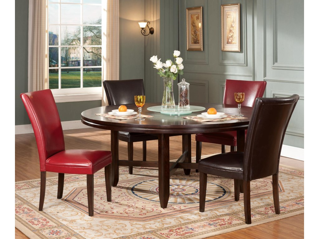 Shown in 5-Piece Dining Set