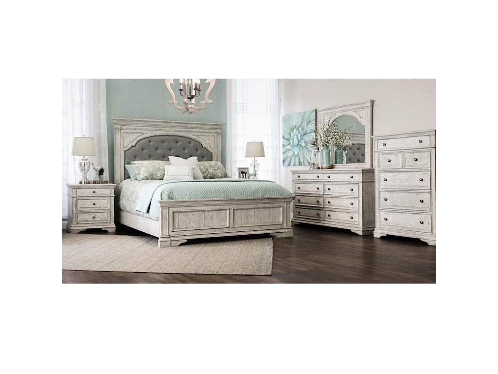 Steve Silver Highland ParkKing Bed