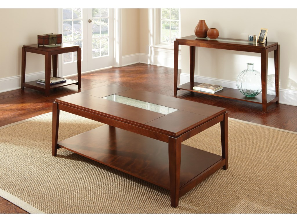 Shown with Sofa Table and Cocktail Table