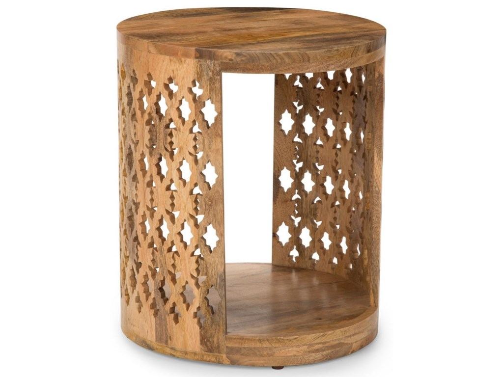 Steve Silver India AccentsBrinley Round End Table