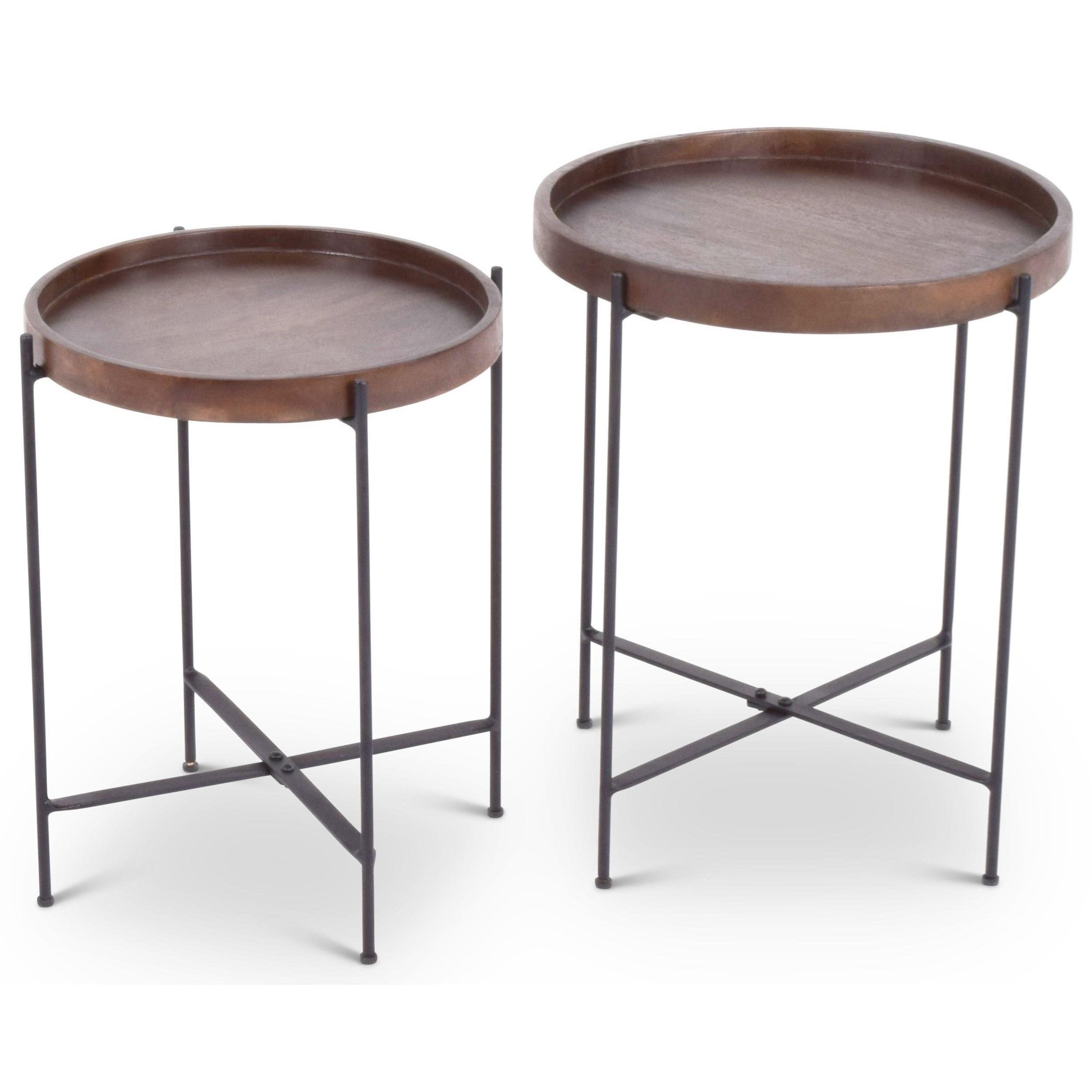 Contemporary Capri Nesting Tables