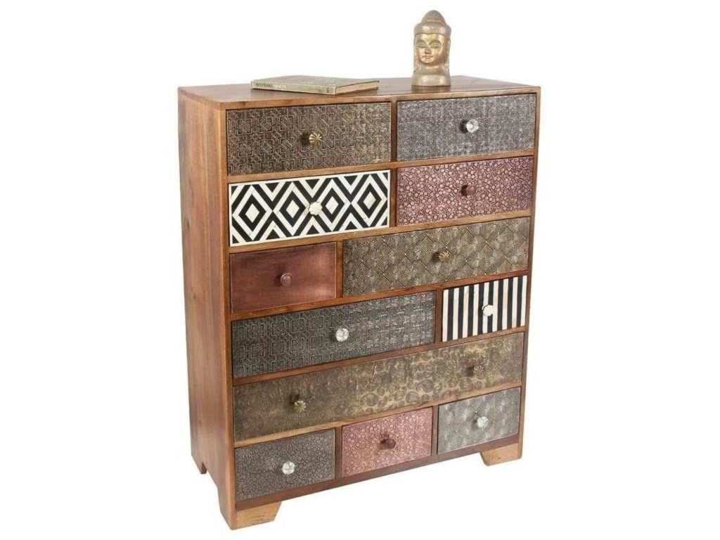 Steve Silver India AccentsHavannah Multi Drawer Sideboard