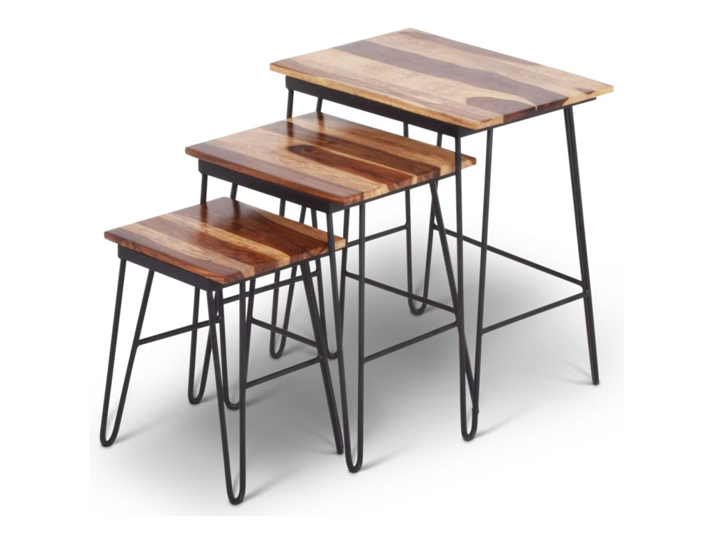 Steve Silver India AccentsTristan Nesting Tables