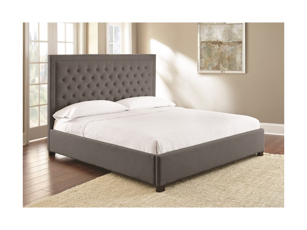Steve Silver IsadoraQueen Upholstered Bed