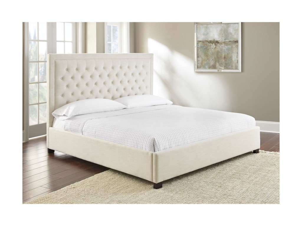 Morris Home IzzyIzzy Queen Upholstered Bed