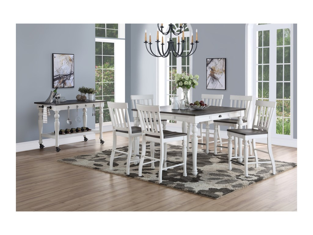 Steve Silver JoannaFormal Dining Room Group