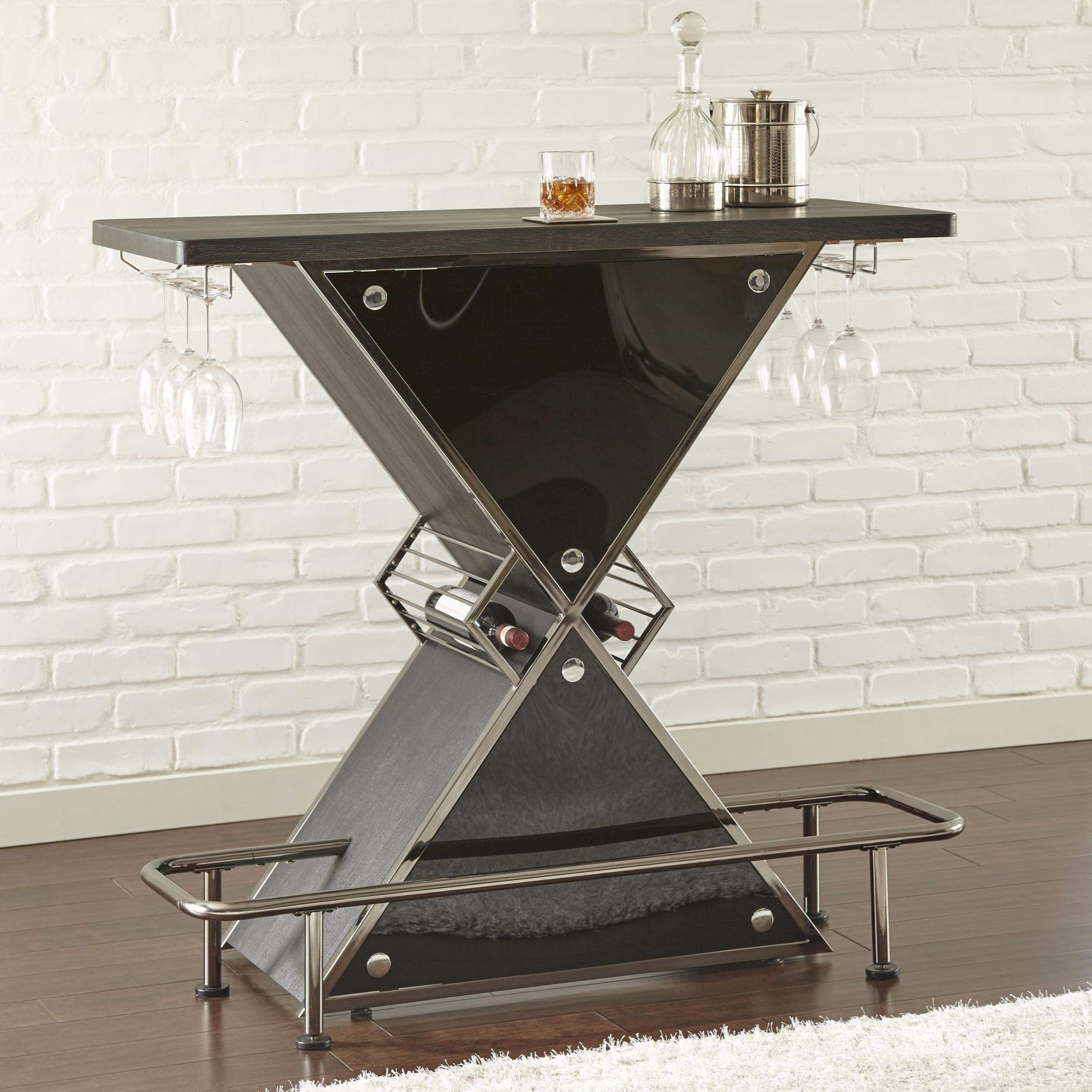 Steve Silver Joanna Bar Table With Footrest