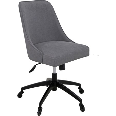 Swivel Upholstered Desk Chair