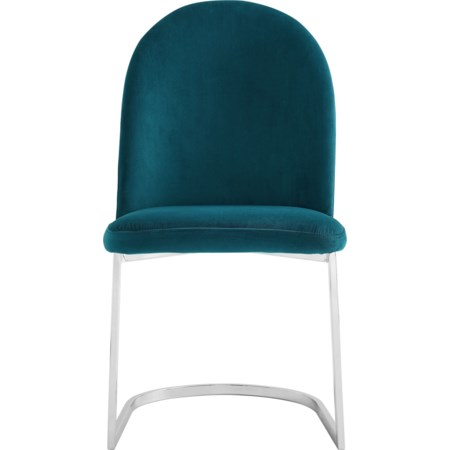 Teal Side Chair