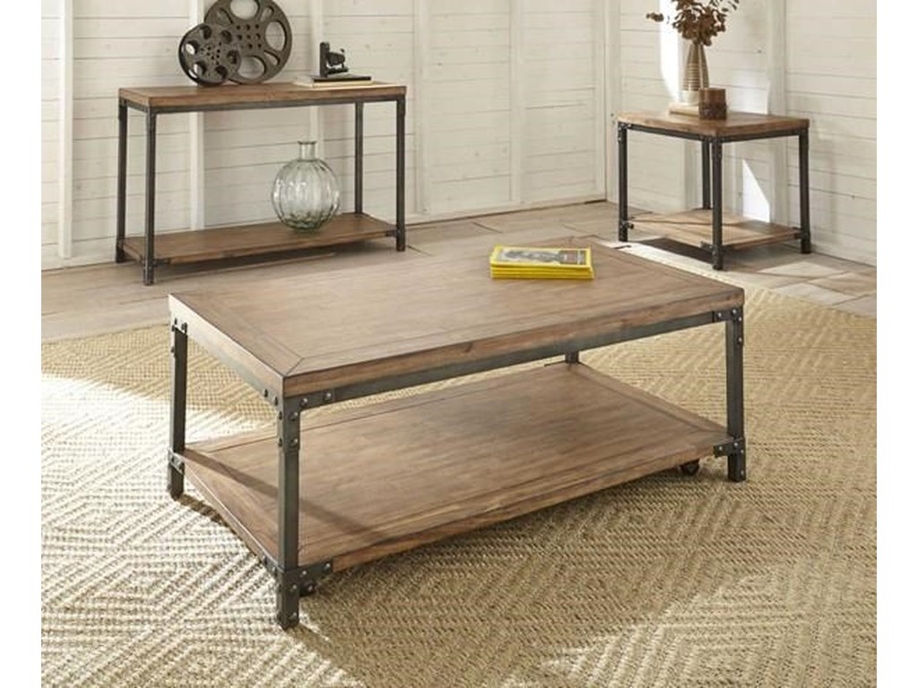 Steve Silver LantanaCocktail Table with 2 End Tables