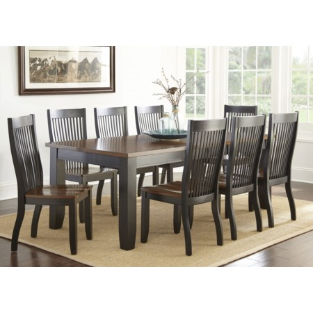 Nine Piece Dining Set