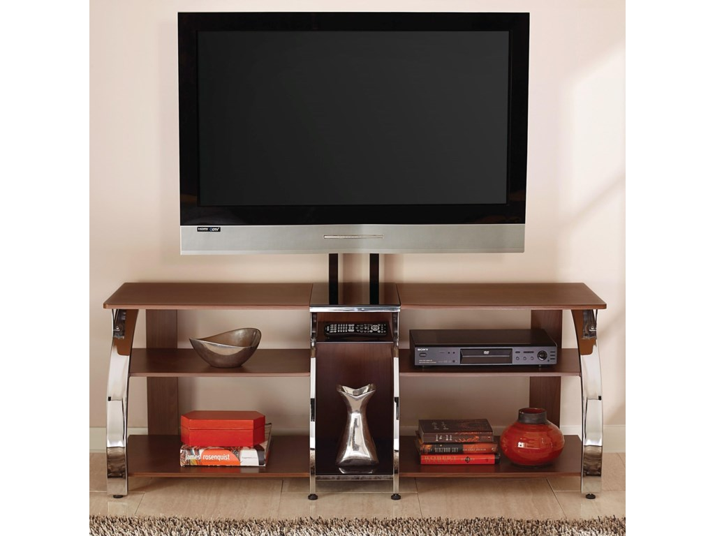 Steve Silver Layla Contemporary Tv Stand With Mounting Bracket