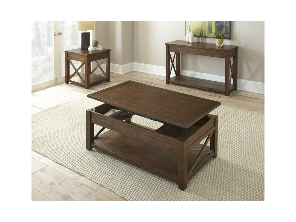 Steve Silver LenkaSquare End Table