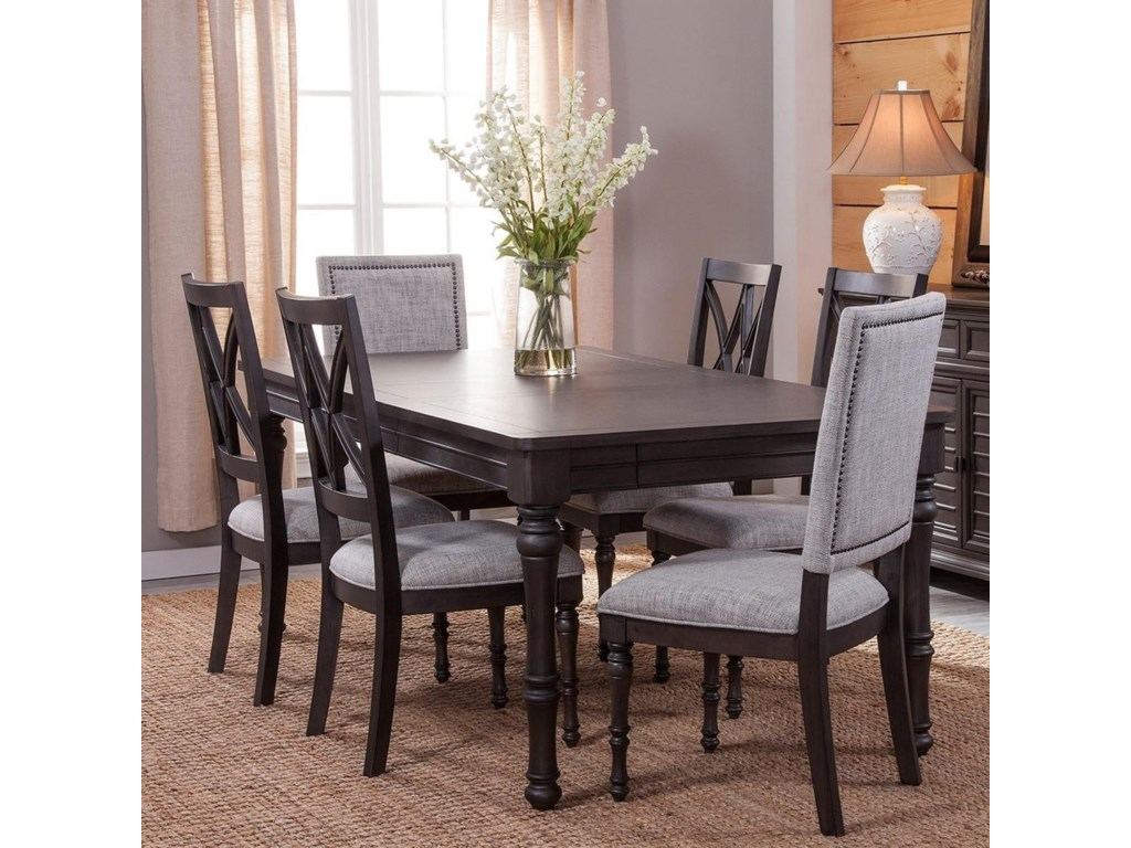 Vendor 3985 Linnett7 Piece Dining Set