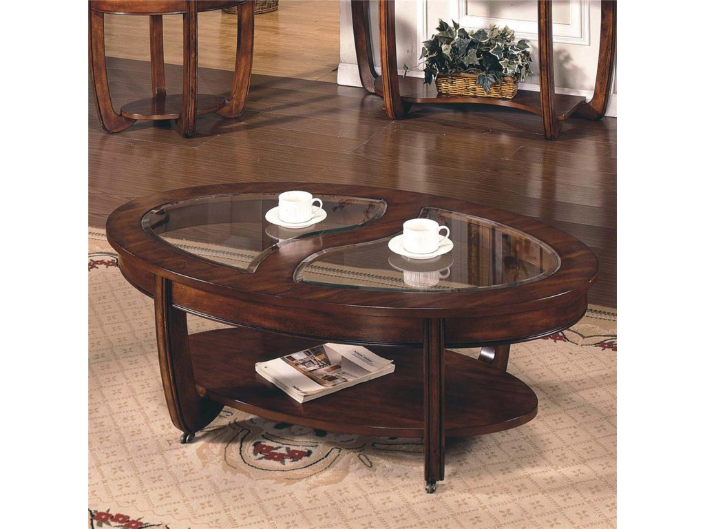 Morris Home London Cocktail Table with Casters