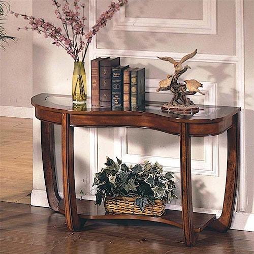Steve Silver London  Sofa Table with 1 Shelf