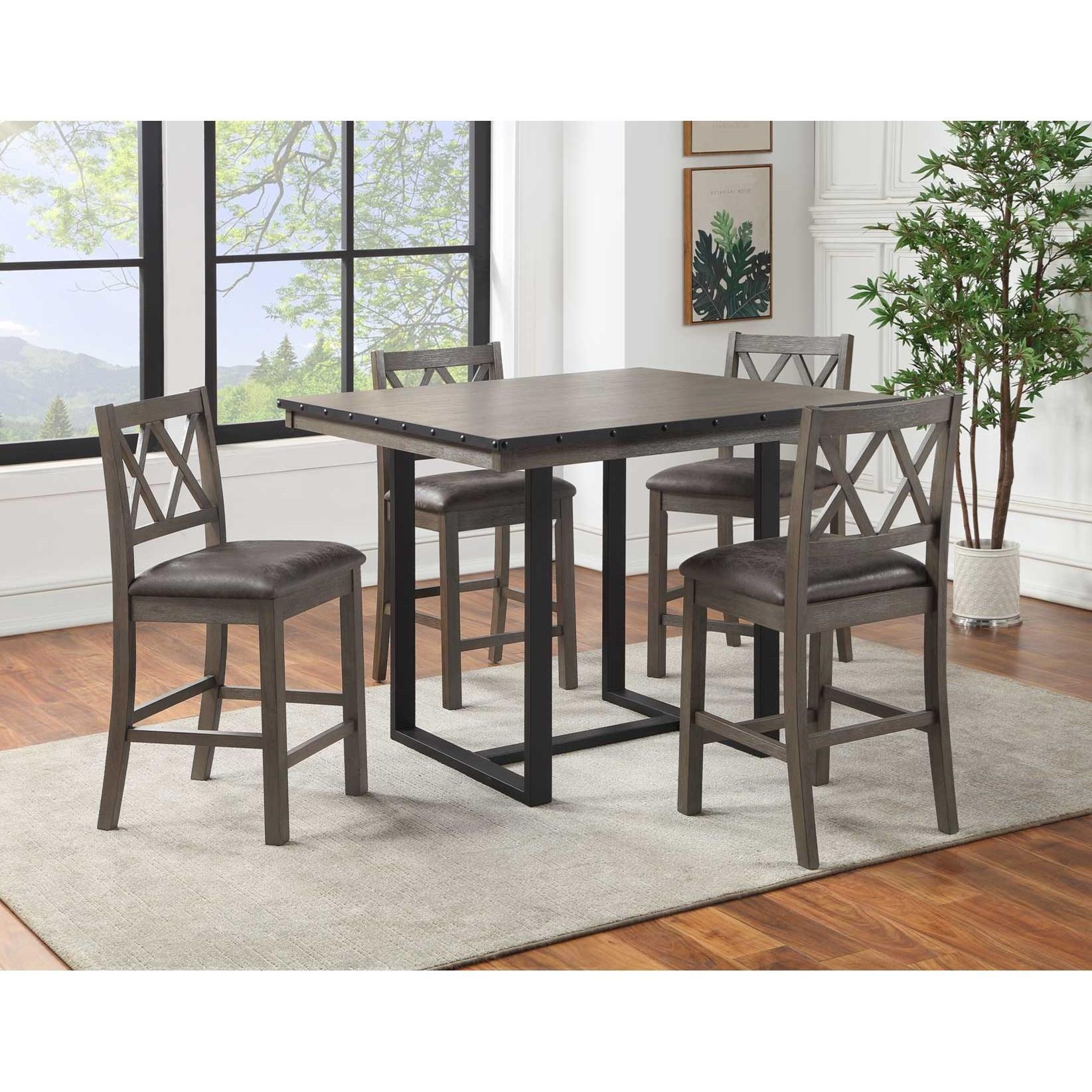 5-Piece Counter Dining Set