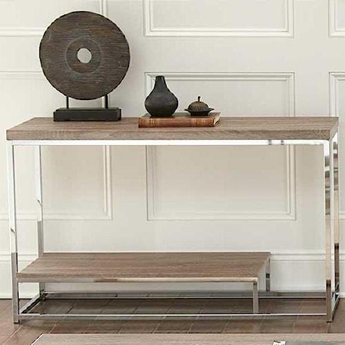 Steve Silver Lucia Sofa Table with Shelf