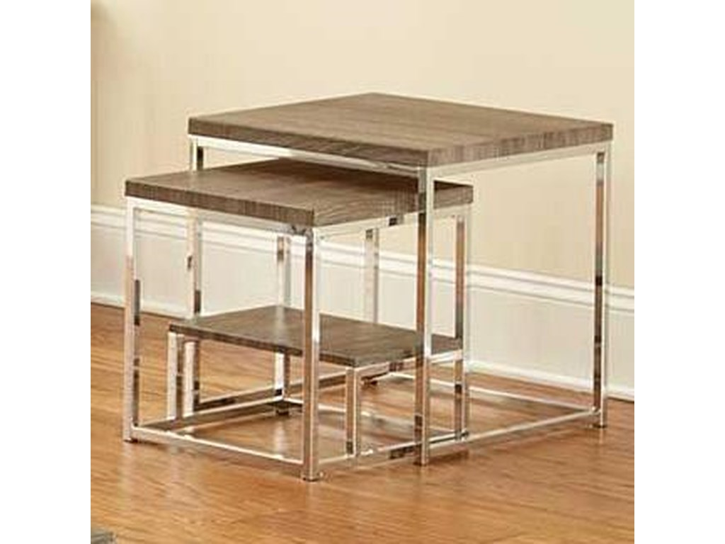 Steve Silver Lucia2 Piece Nesting Table