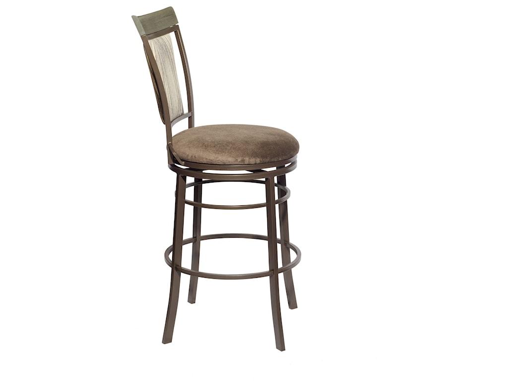 Steve Silver MalorieSwivel Bar Height Chair