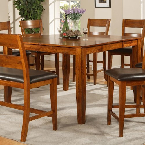 Steve Silver Mango Counter Height Table with Tapered Legs