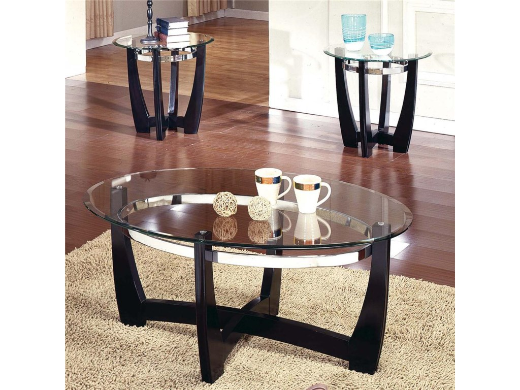 Steve Silver Matinee3-Pack Occasional Table Group