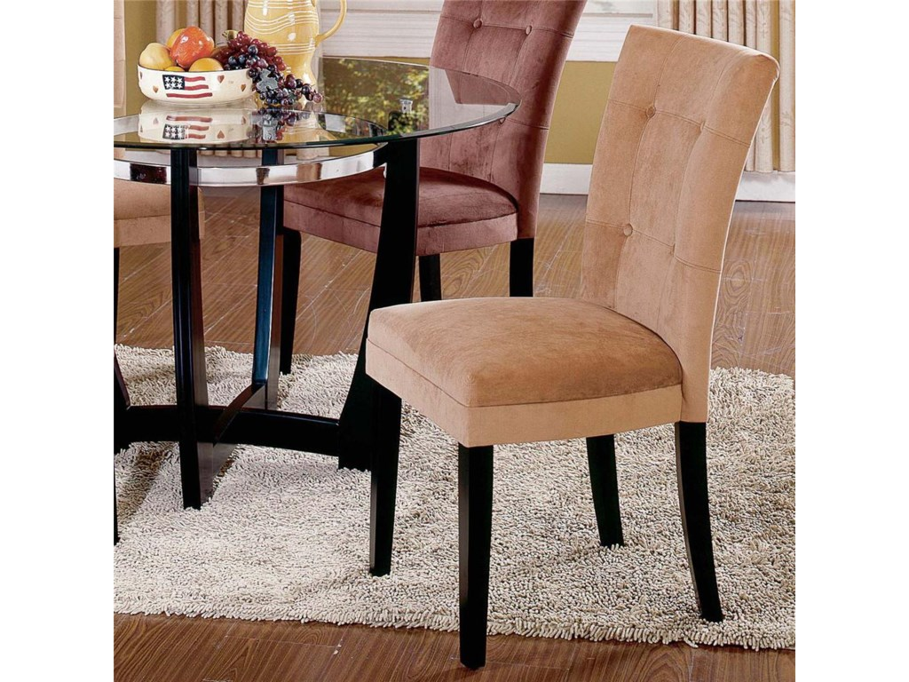 Steve Silver MatineeGlass Top Dining Table & Chair Set
