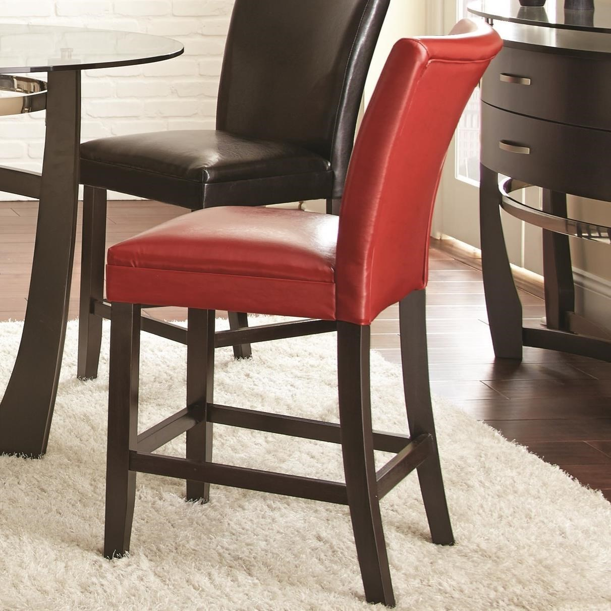 Steve Silver Matinee Bonded Leather Counter Height Chair