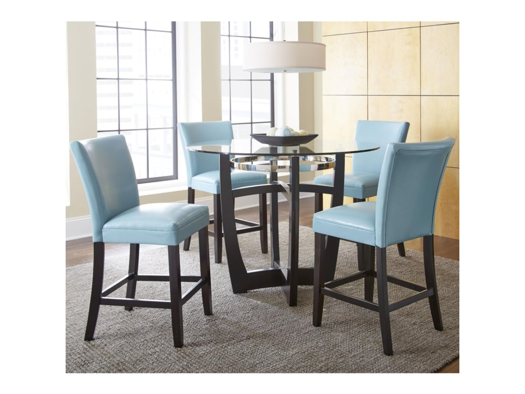 Steve Silver Matinee5 Piece Counter Height Dining Set