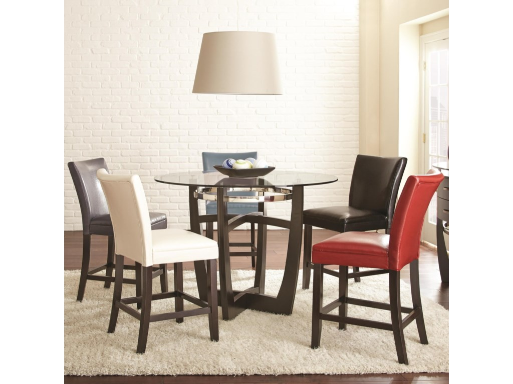 Steve Silver Matinee6 Piece Counter Height Dining Set
