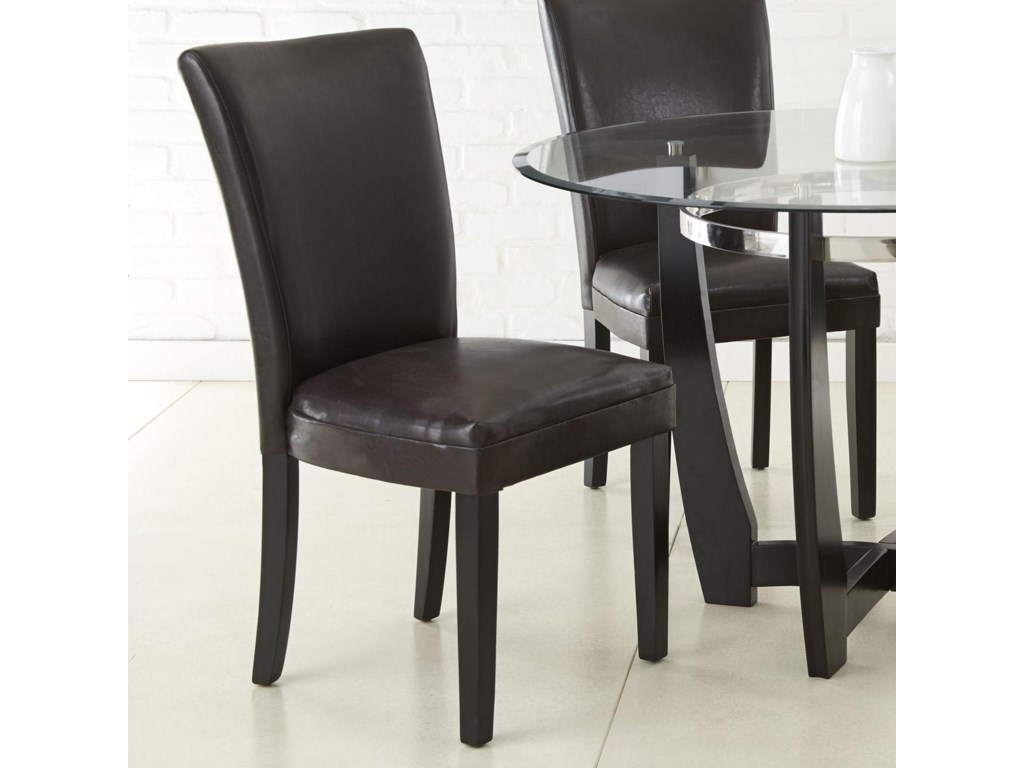 Steve Silver MatineeBonded Leather Side Chair