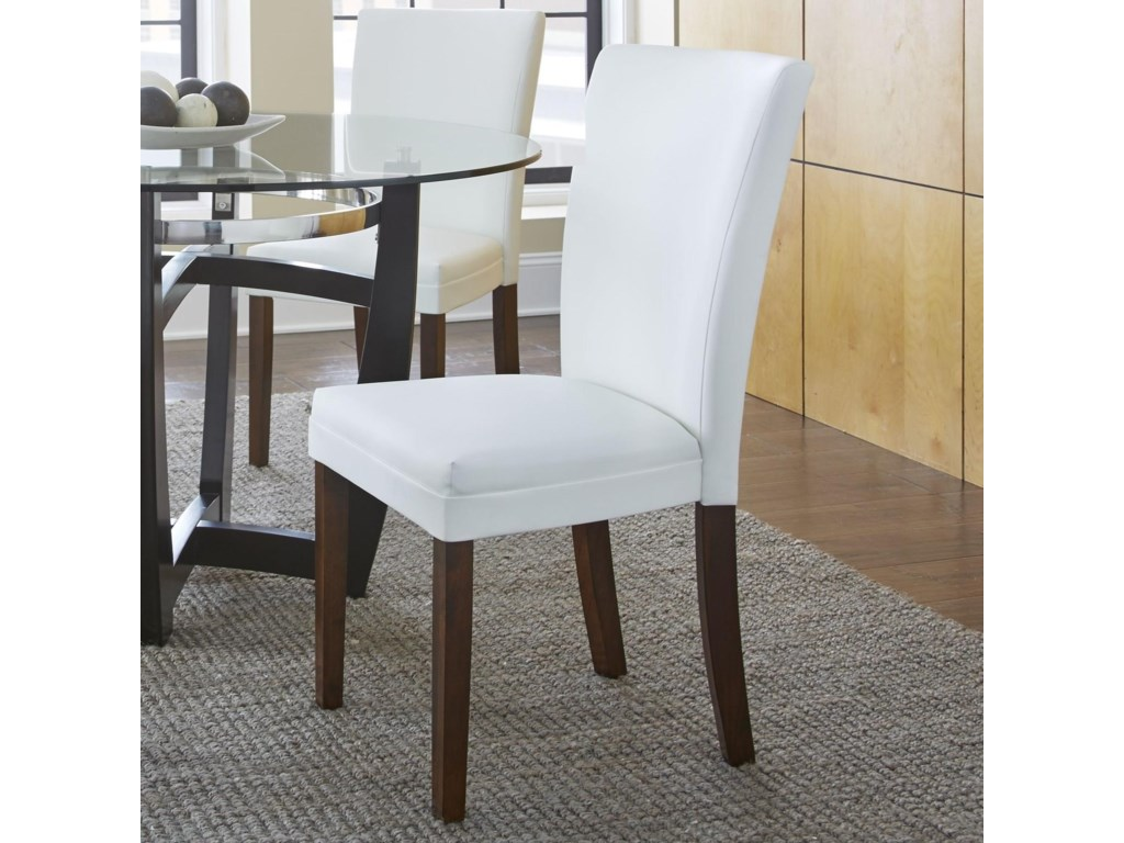 Matinee Bonded Leather Side Chair