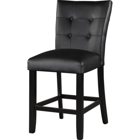 Black Counter Chair
