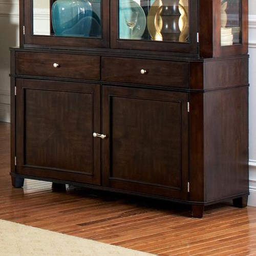 Steve Silver Marseille Transitional 2 Drawer, 2 Door Dining Buffet