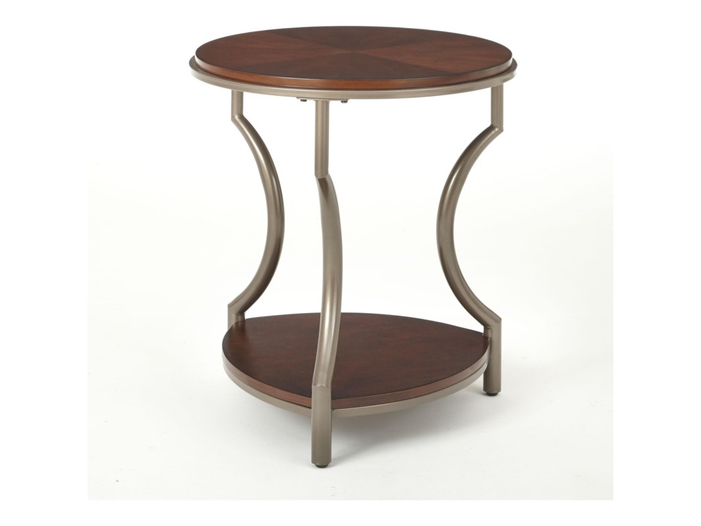 Maryland Round End Table