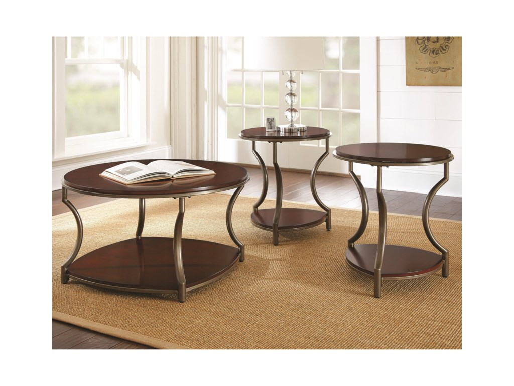 Steve Silver MarylandRound End Table