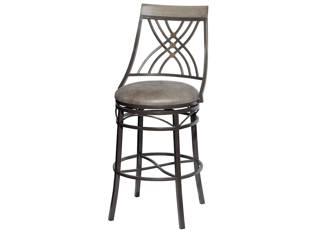 Steve Silver MelvaSwivel Bar Height Chair