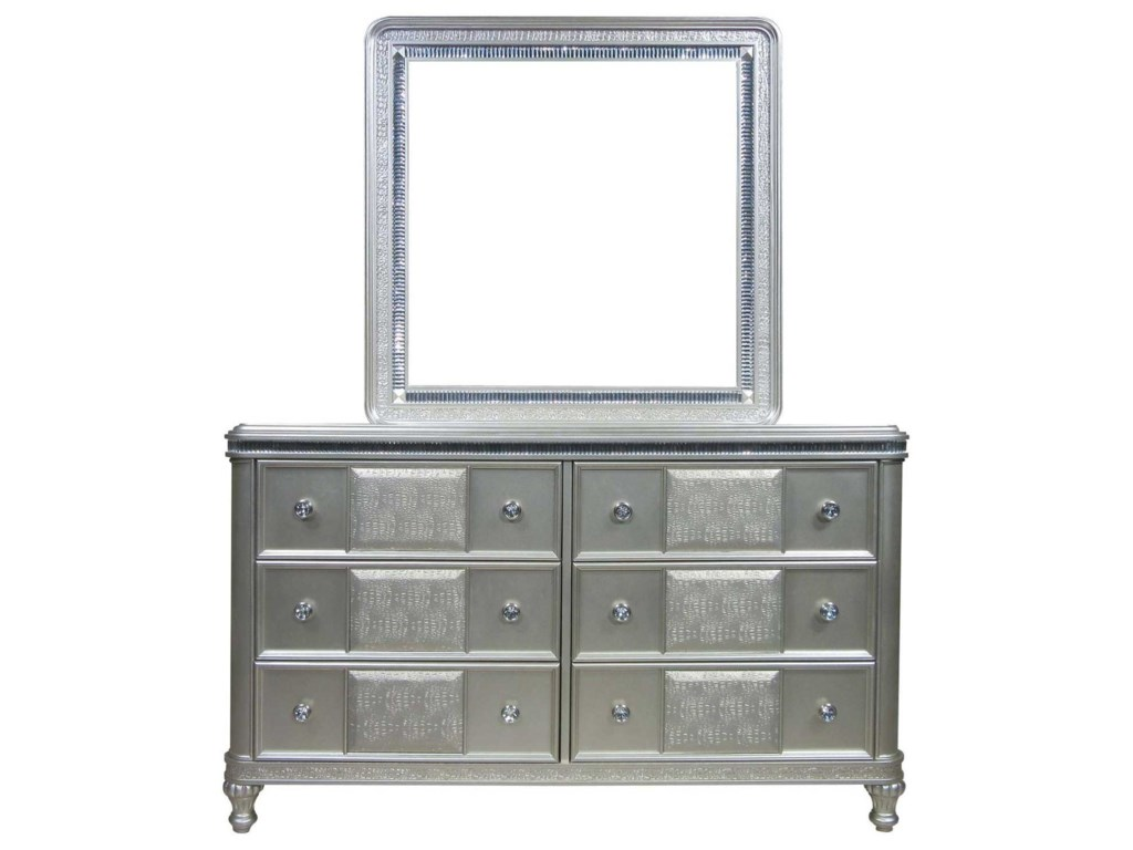 Morris Home MidtownDresser and Mirror Set