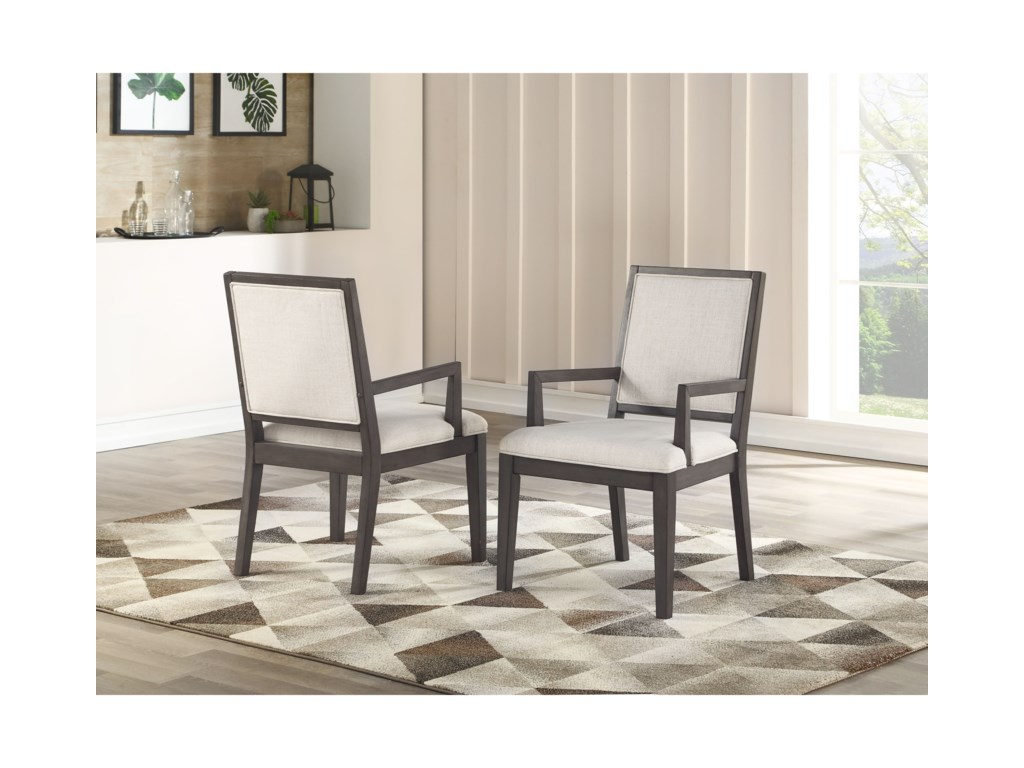 Steve Silver Mila7 Piece Dining and Chair Set