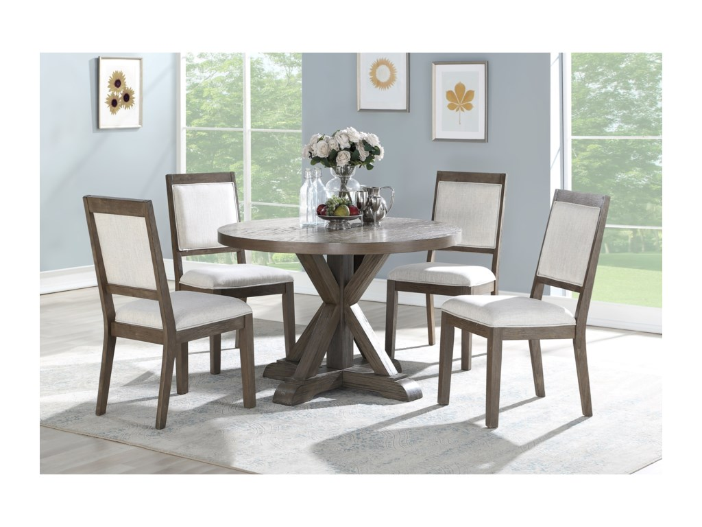 Steve Silver Molly5 Piece Table and Chair Set