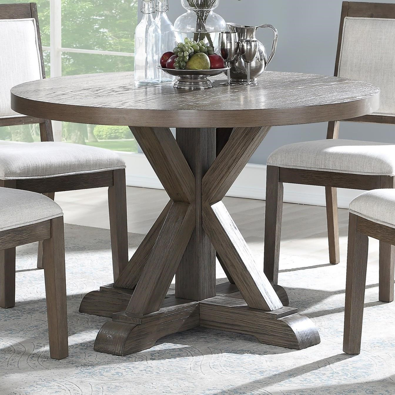 48 round dining table rustic steve silver mollyround dining table molly rustic 48