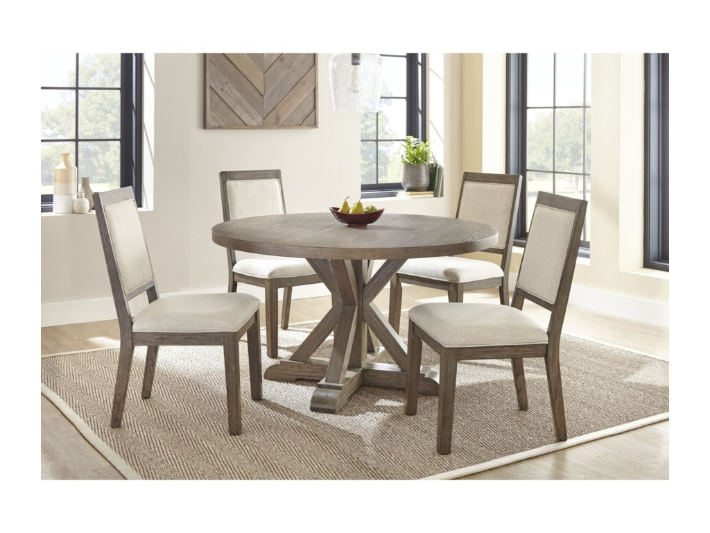 Steve Silver Molly 5 Piece Round Table And Chair Set