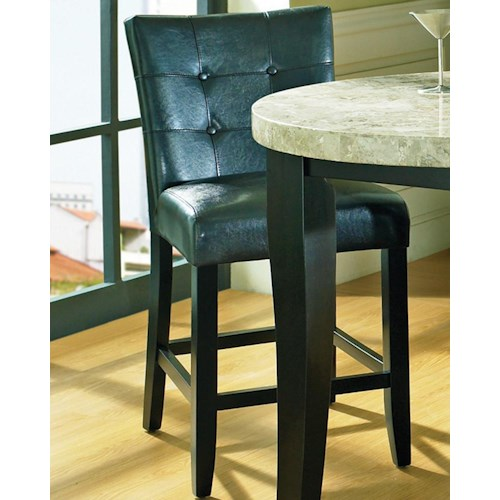 Steve Silver Monarch Tufted Back Parson Counter Stool