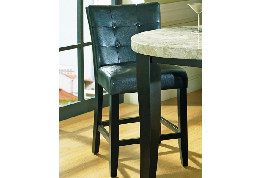 Tremendous Monarch Tufted Back Parson Counter Stool By Steve Silver At Wilsons Furniture Ibusinesslaw Wood Chair Design Ideas Ibusinesslaworg