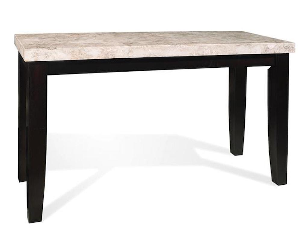 Steve Silver MonarchMarble Veneer Top Sofa Table